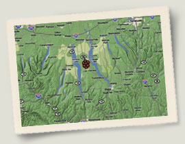Knapp Wines Map